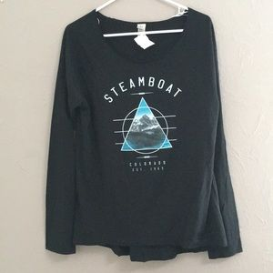 Tops - Steamboat Springs Long Sleeve Crew Neck